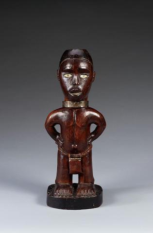 Yombe Wood Figure Congo Region