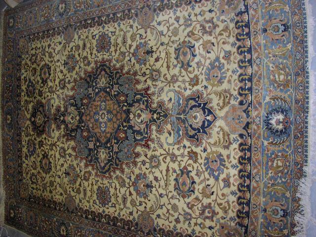 A Tabriz carpet, North West Persia, 396cm x 297cm