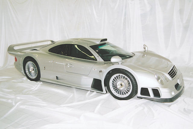 No 12 from a series of 25 built, delivery mileage,1999 Mercedes-Benz CLK GTR Coupe  Chassis no. WDB2973971Y000023