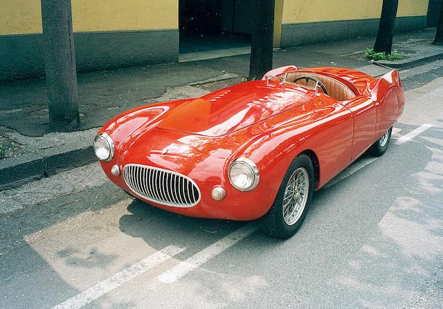 1952 Cisitalia (by Auto Italia) Nuvolari Spyder  Chassis no. SC 01 Engine no. SC 1
