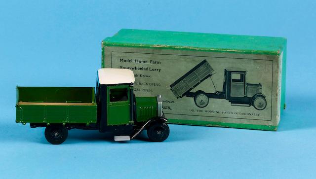 Britains set 59F, Model Home Farm Four-wheeled Lorry, 1938 (2)