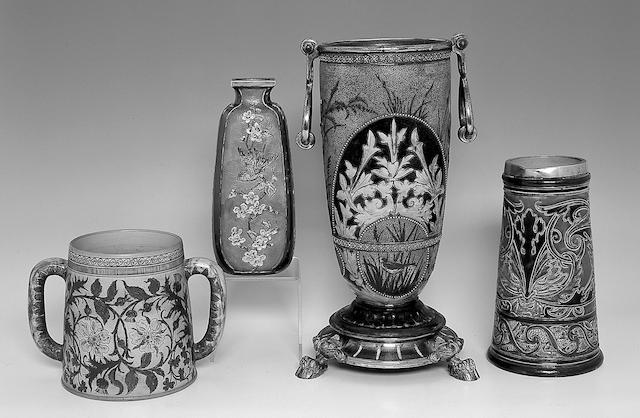 A Martin Brothers stoneware vase,