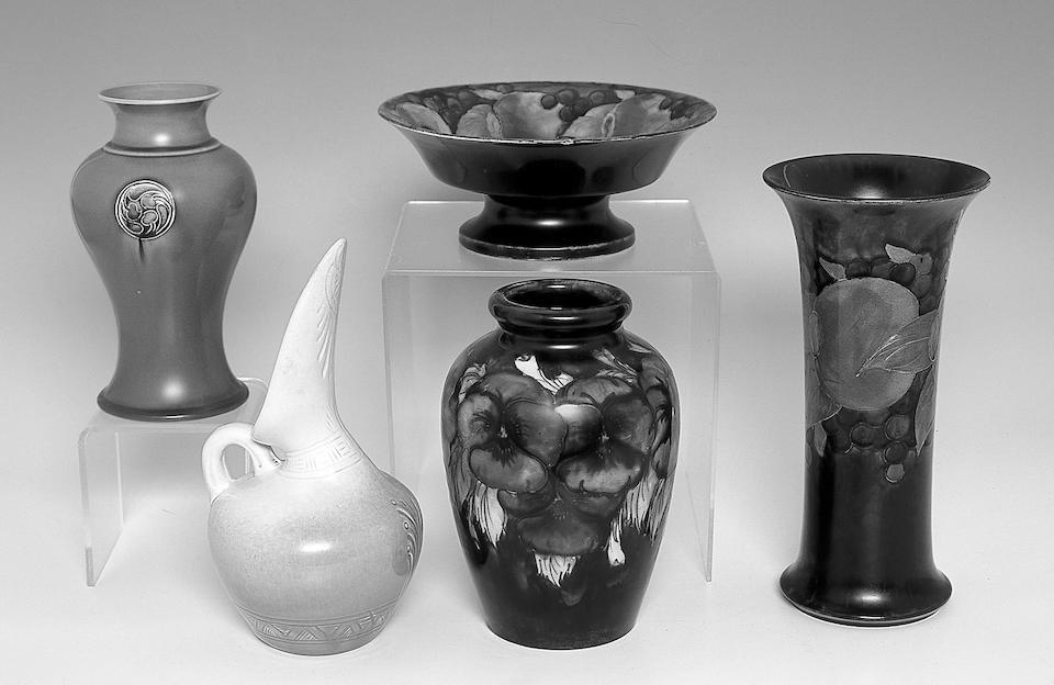 A Moorcroft Pottery Flamminian Ware vase,