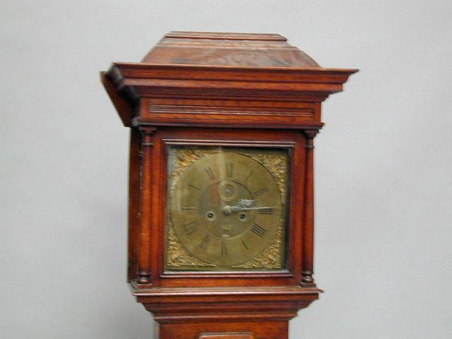 Smith Chester A 19th Century oak longcase clcock,