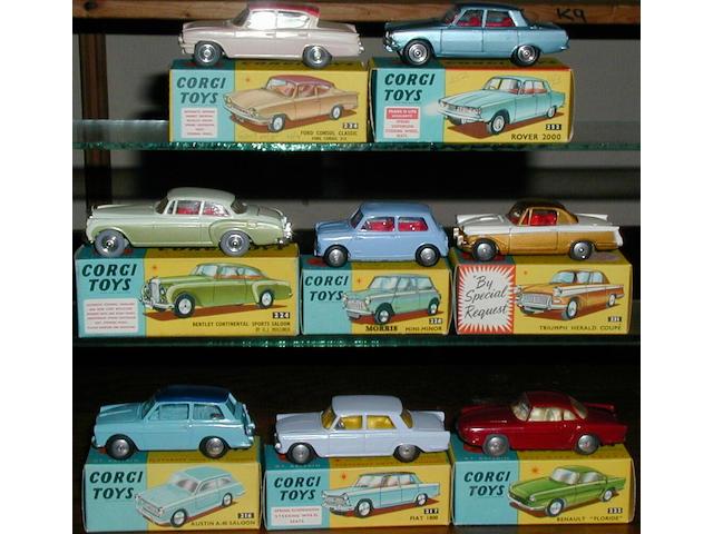 Corgi cars (8)