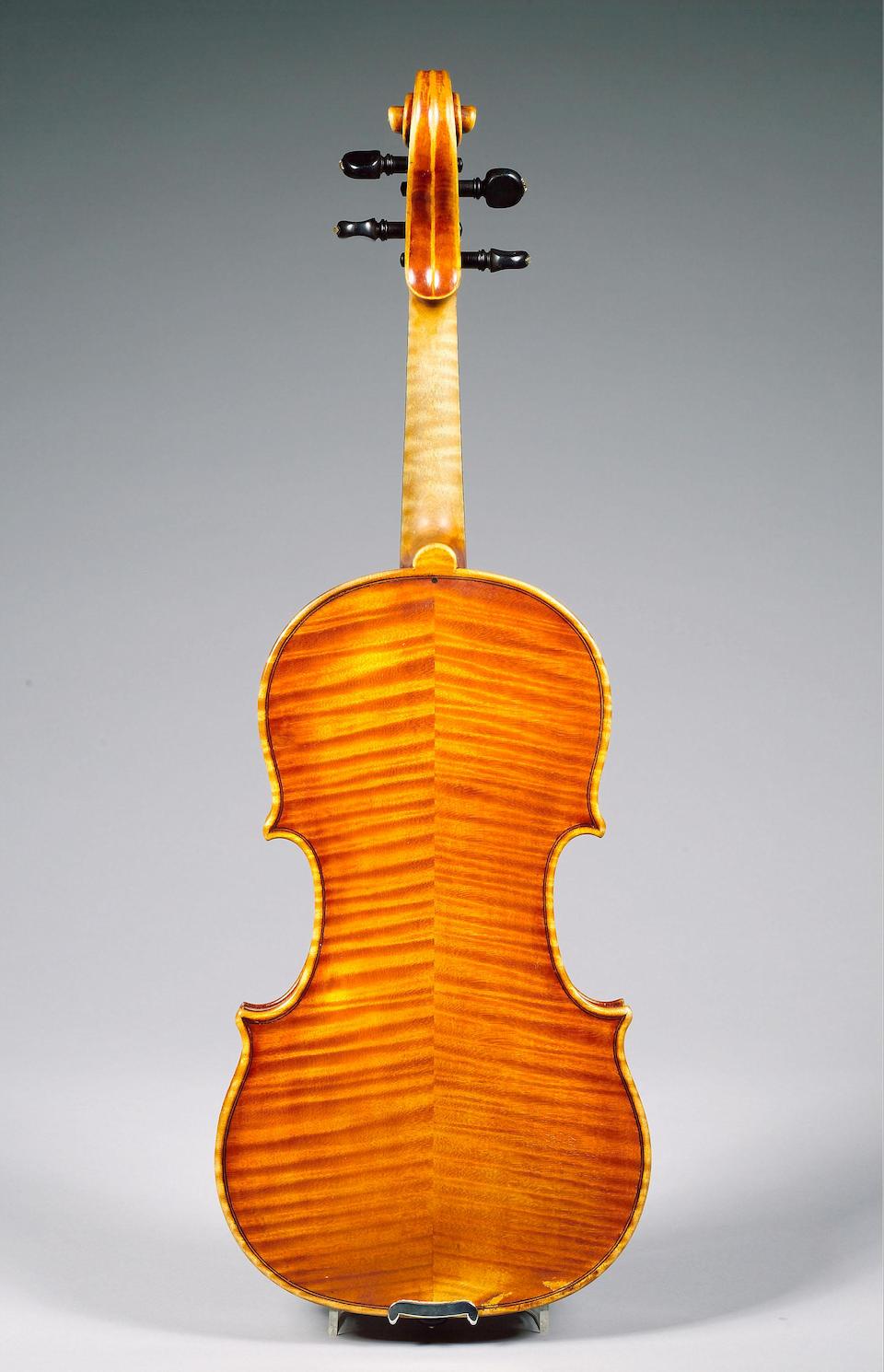 a Violin by Ornato 1931 with cert by Wurlitzer