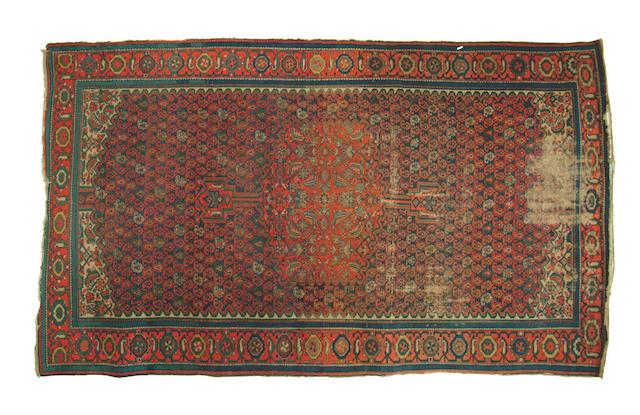 A Malayir carpet,