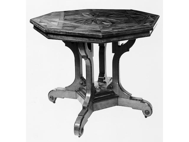 A Victorian centre table,