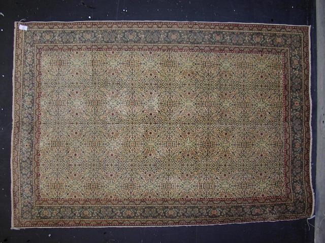 A Kayserie carpet,  Central Anatolia,  294cm x 202cm