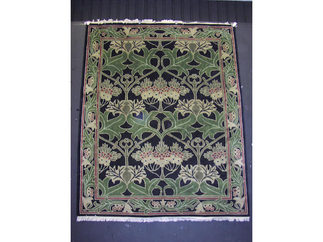 An Arts & Crafts design carpet, of William Morris influence, India, 300cm x 246cm