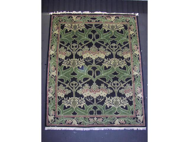 An Arts & Crafts design carpet, of William Morris influence, India, 300cm x 246cm
