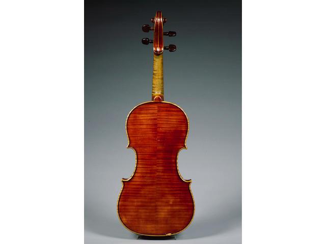 A fine and handsome Italian Violin by Ettore Soffritti Ferrara  1911