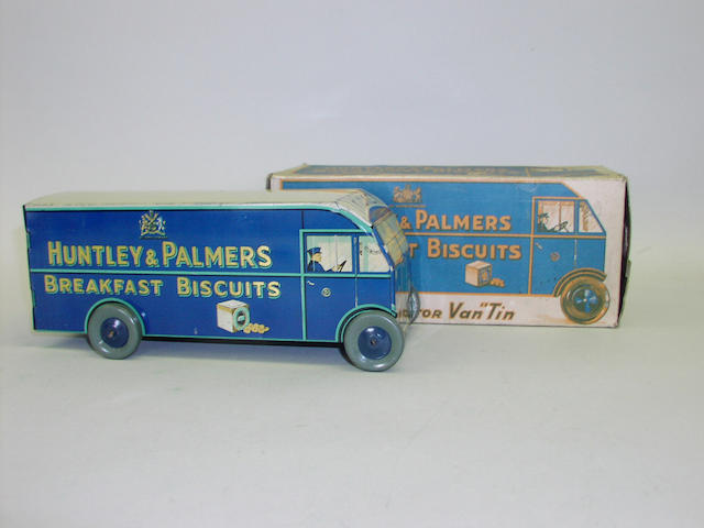 A Huntley & Palmers Tribrek Lorry tin
