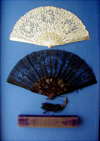 A late 19th/early 20th Century fan,