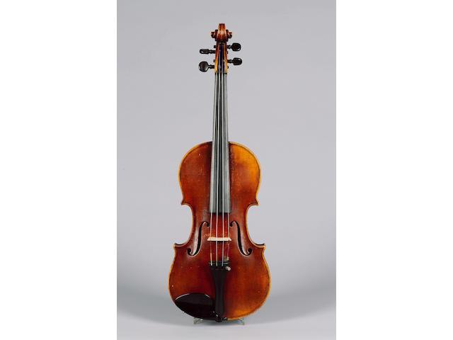 A fine English Violin by G. Wulme-Hudson London, 1925, after Antonio Stradivarius