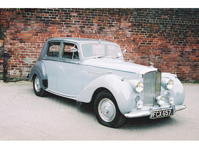 1951 Bentley Mark VI  4 1/4 Litre Standard Steel Saloon  Chassis no. B 36 KM Engine no. B 18 K