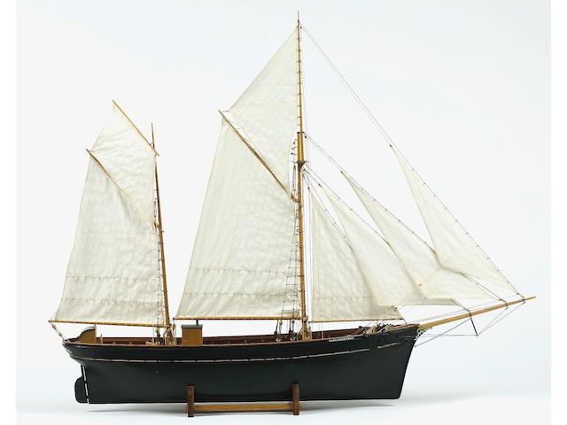 A Fine Display Model of the Ketch GARLANDSTONE 89 x 18 x 76cm(35 x 7 x 30in)