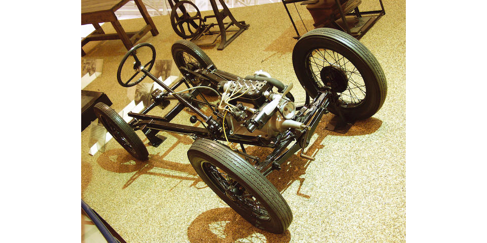 1928 Austin Seven chassis with engine