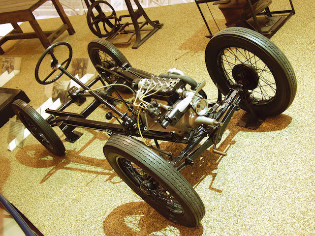 1928 Austin Seven chassis with engine  Chassis no. C/74333 Engine no. M/74616