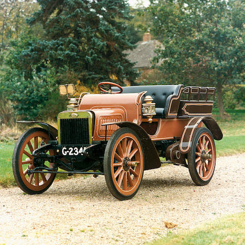 1906 Albion A2 16hp Wagonette  Chassis no. 213 Engine no. 8G