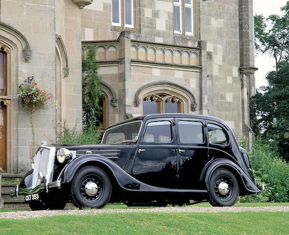 1948 Wolseley 18/85 Series III Saloon  Chassis no. 318/7756 Engine no. 11450