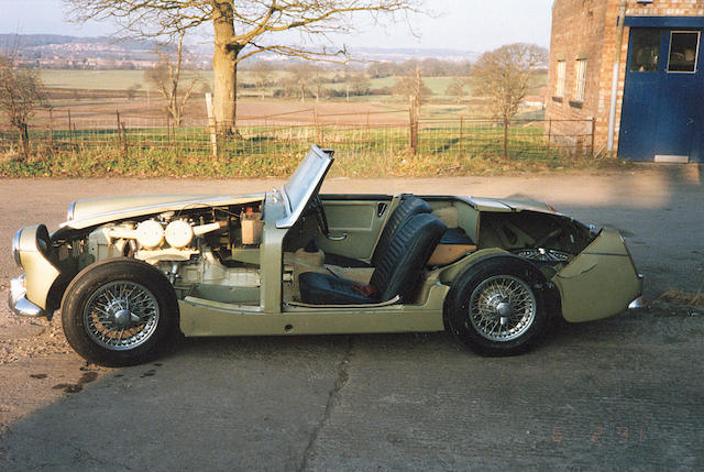 1969 MG Midget Roadster, sectioned
