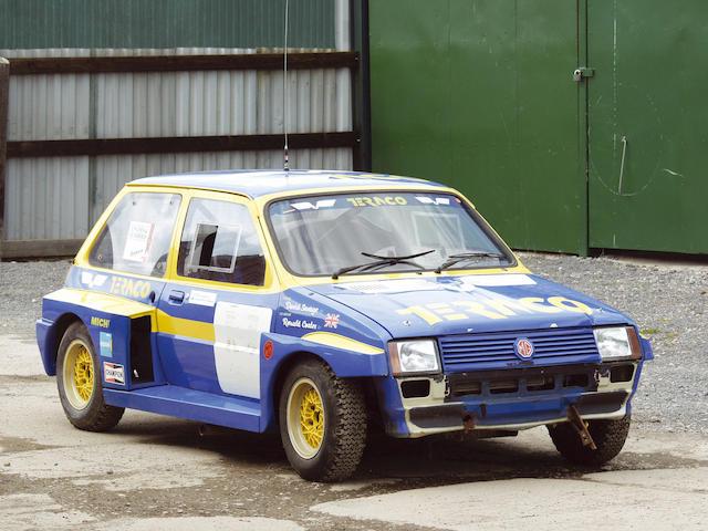 1983 MG Metro '6R4' Mock-up