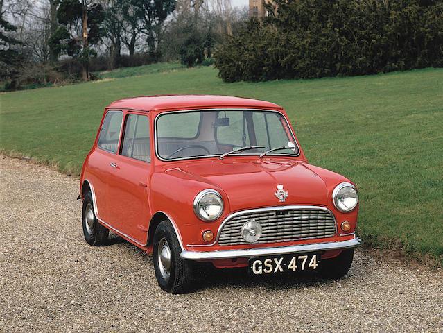 1961 Austin Mini 'Bathgate' Saloon  Chassis no. AA2S7/174972 Engine no. 8AM-UH/243263