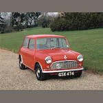 1961 Austin Mini 'Bathgate' Saloon