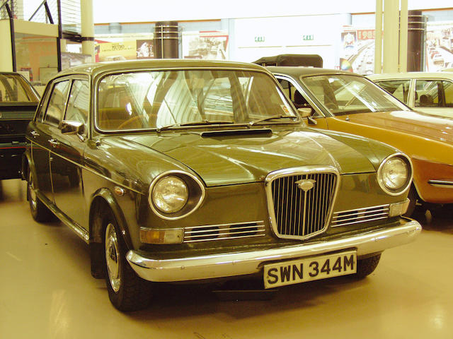 One previous owner from new,1974 Wolseley Six Saloon  Chassis no. WB-4SE/16864A Engine no. 13H-439E-H16265