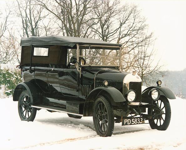 1923 Morris Oxford 13.9hp 'Bullnose' Tourer  Chassis no. 23202 Engine no. 30662