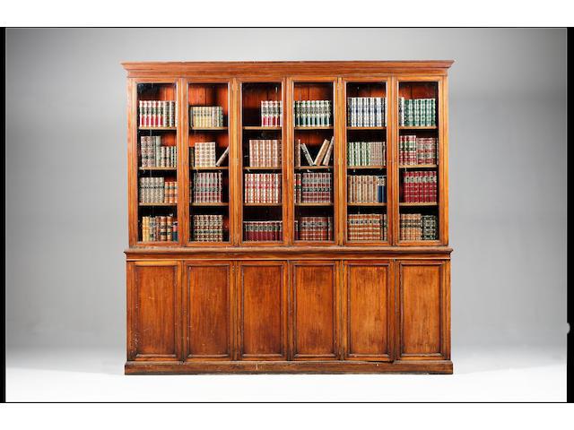 A Victorian mahogany bookcase,