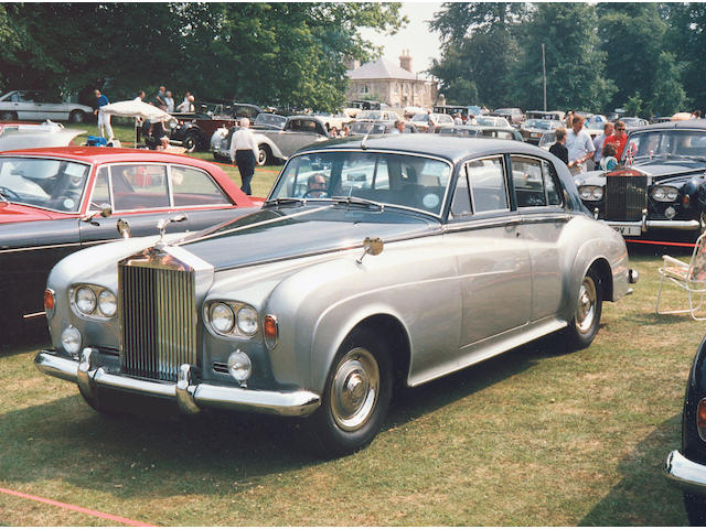 1964 Rolls-Royce Silver Cloud III Standard Steel Saloon  Chassis no. SGT107 Engine no. ST53G