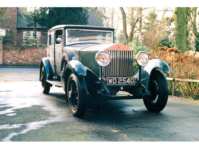 1931 Rolls-Royce 20/25 Sports Saloon  Chassis no. GOS 68 Engine no. T 90