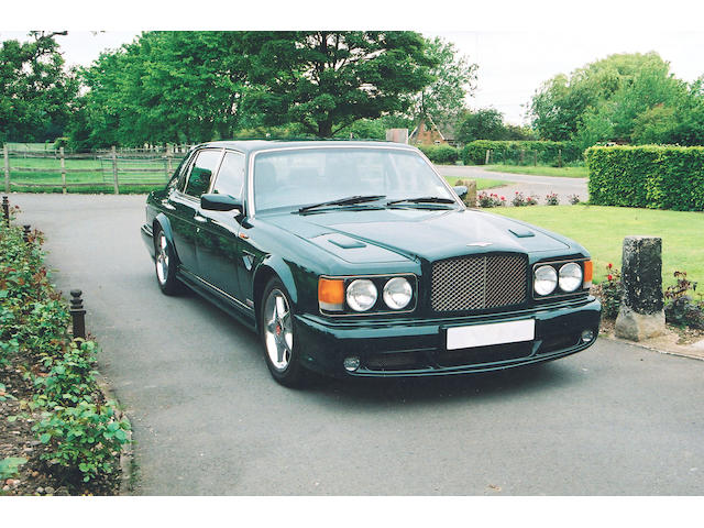 1997 Bentley 6,750cc Turbo RT Mulliner 'Pinnacle' Sports Saloon  Chassis no. SCBZP 26CWCH66731 Engine no. 89368L410M/TIW