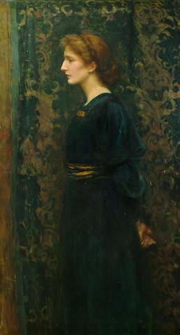 Ralph Peacock (British, 1868-1946) Miss Edith Brignallsigned, oil on canvas