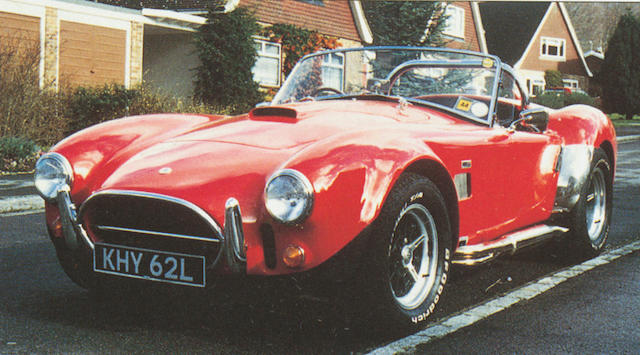 1972 BRA 427 Cobra Two-Door Roadster  Chassis no. BRO 13