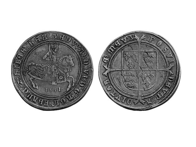 British Hammered, Edward VI (1547-1553),  fine issue Crown, 1551, mm.Y (S.2478).