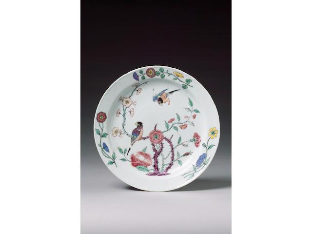 A very fine plate circa 1740-45