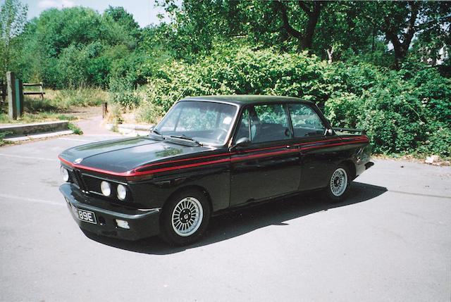 1967 BMW 1600TI Alpina  Chassis no. 1583237