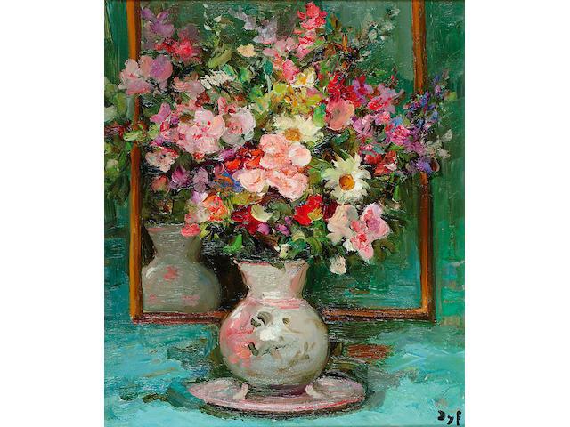 Marcel Dyf (1899-1985 French) 'Fleurs'