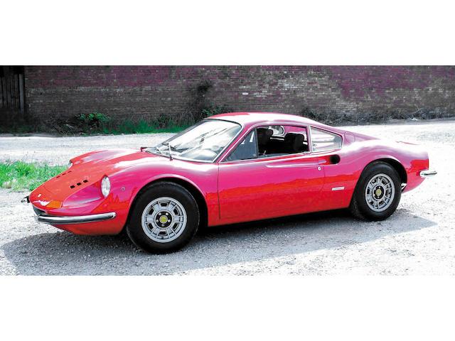 1972 Ferrari 246 GT Dino Coachwork by Pininfarina