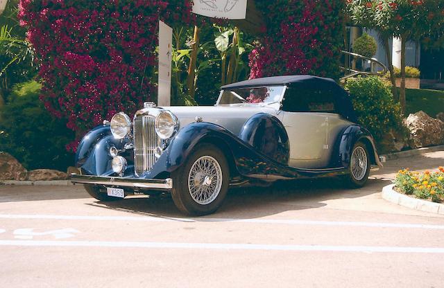 1937 Lagonda LG45 Drophead Coupe  Chassis no. 12226 Engine no. 12226