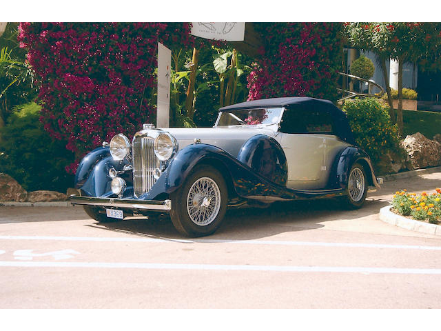 1937 Lagonda LG45 Drophead Coupe  Chassis no. 12226 Engine no. 12226