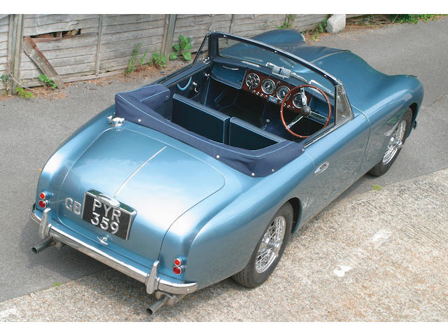 1955 Aston Martin DB2/4 Two-Door Drophead Coupe