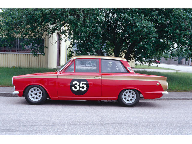 The ex-Alan Mann Racing, one owner since 1967,1964 Ford Lotus-Cortina  Chassis no. BA74EU59032