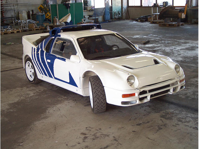 The ex-Stig Blomqvist/Martin Schanche,1986 Ford RS200 Evolution Two-Seat Rally Coupe  Chassis no. 012