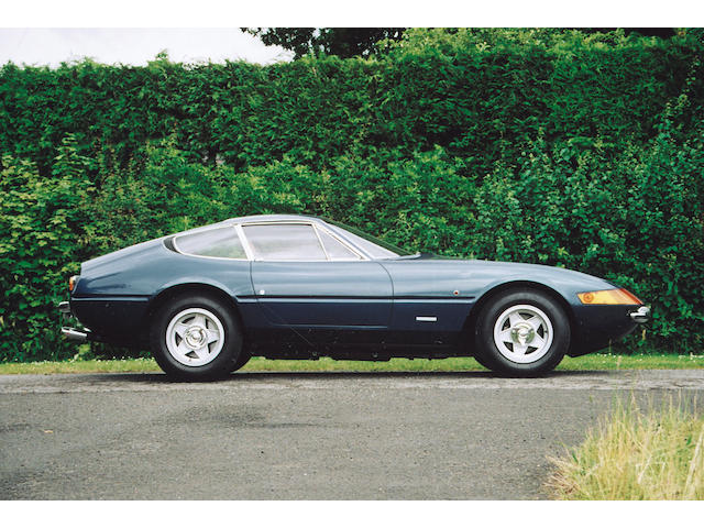 The ex-London Motor Show, 2,800 miles from new,1971 Ferrari 365GTB/4 Daytona Berlinetta