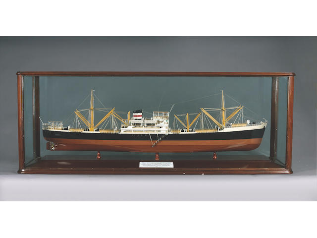 A Builder's Model of the MV ASTRONOMER 1951