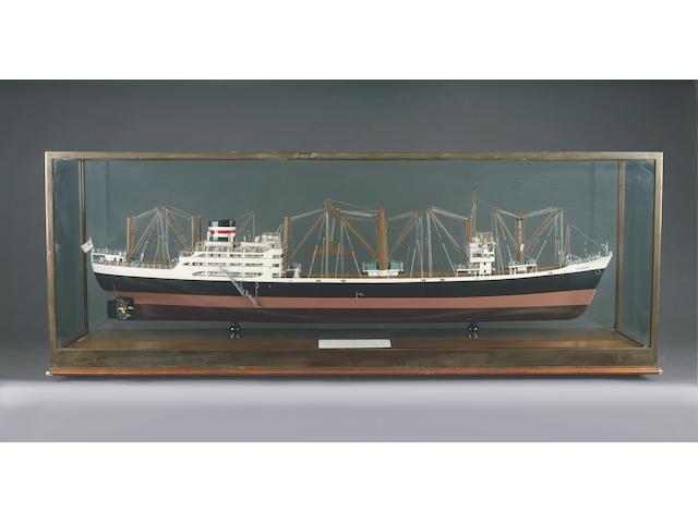 A Builder's Model of the MV ADVENTURER 1960